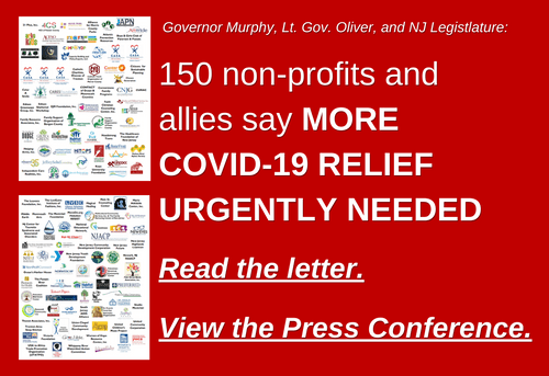 150 New Jersey Nonprofits and Allies Call on the NJ Government for More Covid-19 Relief