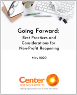 Going Forward: Best Practices and Considerations for Non-Profit Reopening